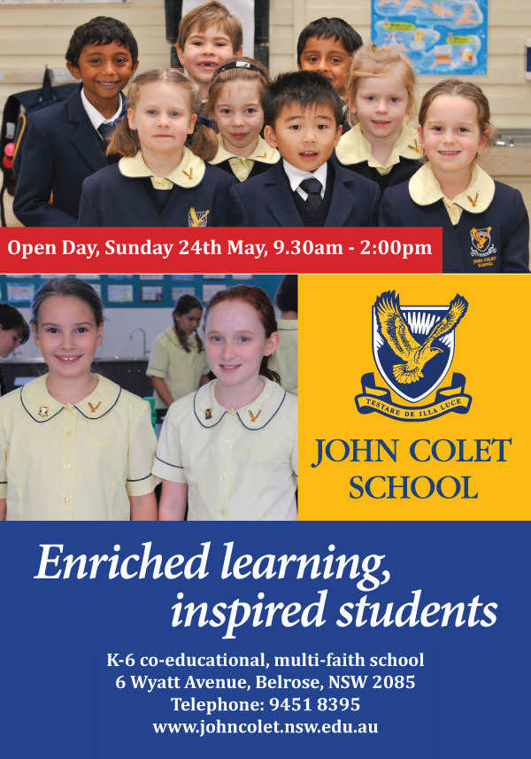 John-Colet-Open-Day-advert