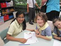 Lower First students meet their buddies - image 2013-peer-support-int3-blog on https://www.johncolet.nsw.edu.au