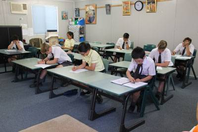 Top Sanskrit scholars sit exam - image IMG_7813-smaller on https://www.johncolet.nsw.edu.au