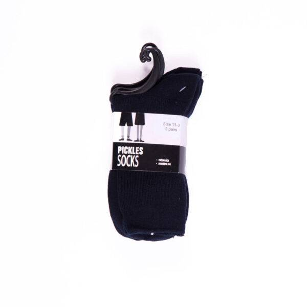 Grey ankle socks (3 pair) (Summer, Senior Boys) - image bnan_boys-navy-ankle-socks-600x600 on https://www.johncolet.nsw.edu.au