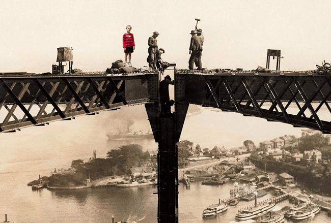 Our iconic bridge, learning all about it - image bridge_photoshop_fun on https://www.johncolet.nsw.edu.au