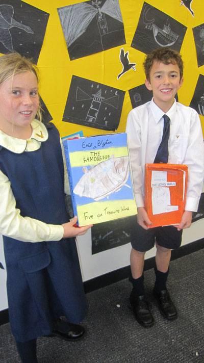 Premier's Reader Challenge going strong - image cerealboxbooks2 on https://www.johncolet.nsw.edu.au