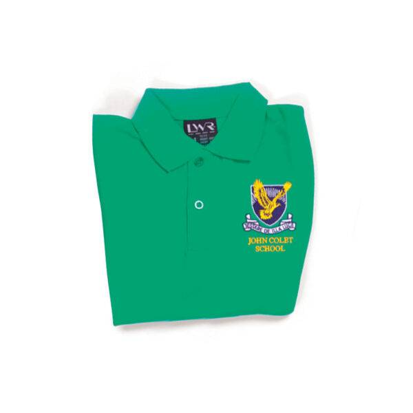 Girls Netball Skirt - image coloured-tops-green-600x600 on https://www.johncolet.nsw.edu.au