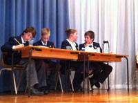 6th class debating and reciting - image debating-photo on https://www.johncolet.nsw.edu.au