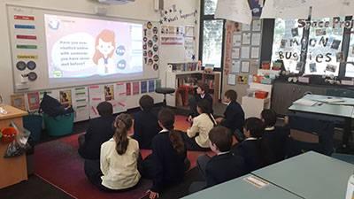 Keeping safe online - image esafety_web on https://www.johncolet.nsw.edu.au