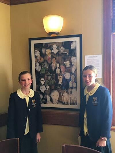 Sixth class artwork at finalist in art award - image gallipoli_artwork_plus_girls_web_web on https://www.johncolet.nsw.edu.au
