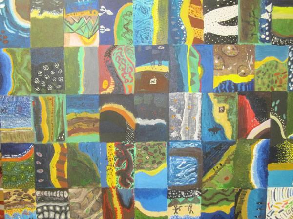 6th class students' artwork in Gallipoli Art Prize - image gallipoliartprizeentry on https://www.johncolet.nsw.edu.au