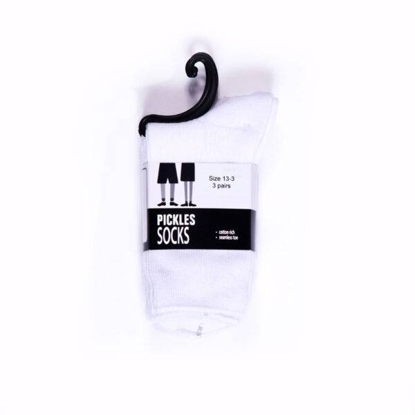 Grey ankle socks (3 pair) (Summer, Senior Boys) - image gwan_girls-white-ankle-socks-600x600 on https://www.johncolet.nsw.edu.au