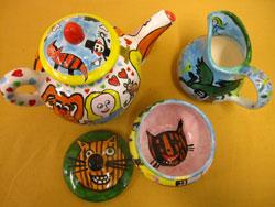 Young tea set designers - image tea-set on https://www.johncolet.nsw.edu.au