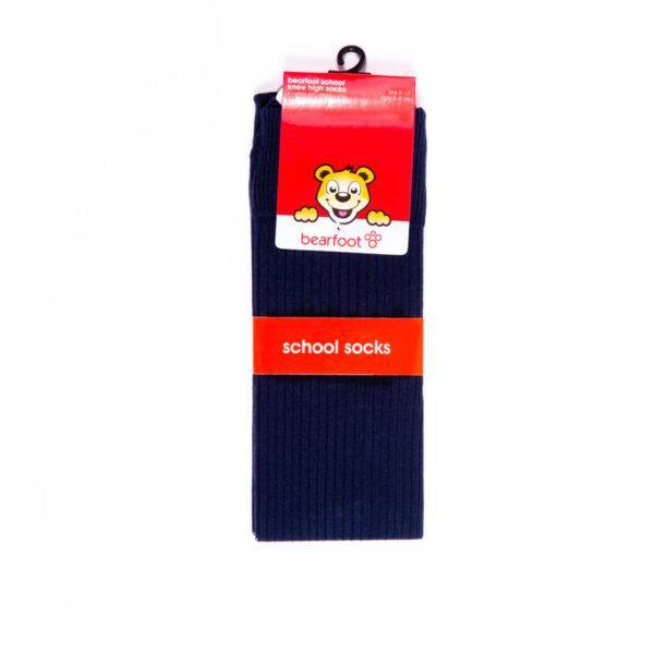 unk navy knee hi socks