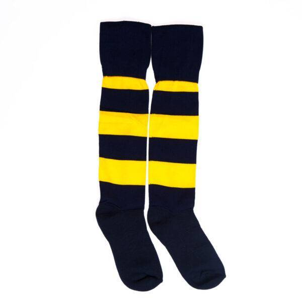 Girls Netball Skirt - image ustrs_striped-sports-socks-600x600 on https://www.johncolet.nsw.edu.au